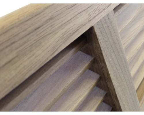 Corner Baseboard Black Walnut