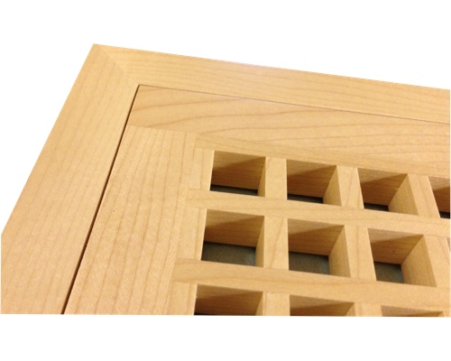 Egg Crate Flush Mount Cherry Floor Grate Vents