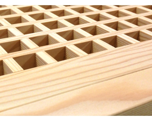 Egg Crate Flush Mount Fir Floor Grate Vents