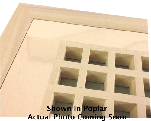 Egg Crate Flush Mount African Mahogany Floor Grate Vents