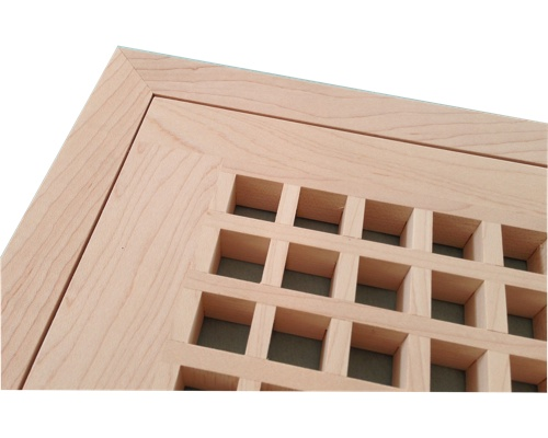 Egg Crate Flush Mount Maple Floor Grate Vents