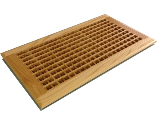 Egg Crate Self Rimming Ash Floor Grate Vents