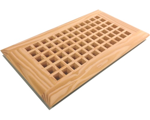 Egg Crate Self Rimming Fir Floor Grate Vents