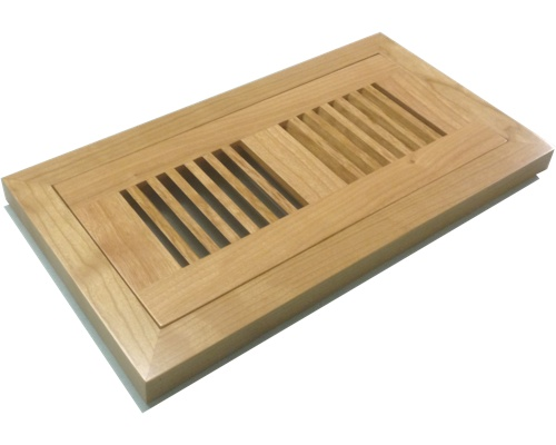 Wood Floor Vents Registers Flush Mount Covers