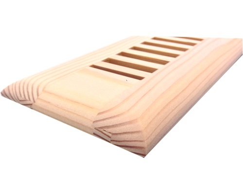 Self Rimming Fir Wood Floor Vents