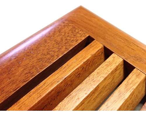 Self Rimming Sapele Mahogany Wood Floor Vents