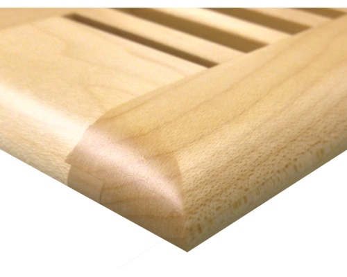 Self Rimming Maple Wood Floor Vents