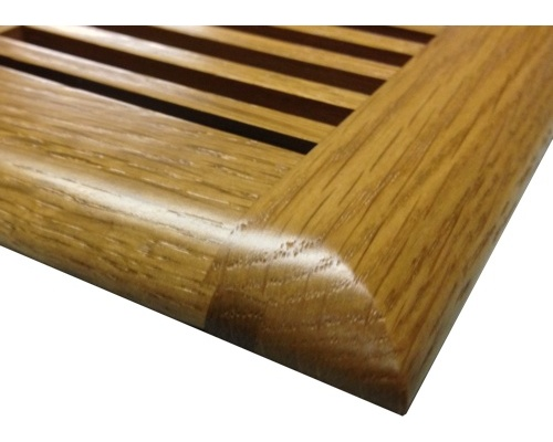 White Oak Floor Vents Registers Self Rimming Wood Floor