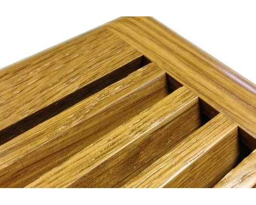 Self Rimming White Oak Wood Floor Vents