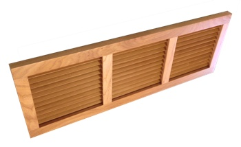Wall Mount Return Vent Hickory