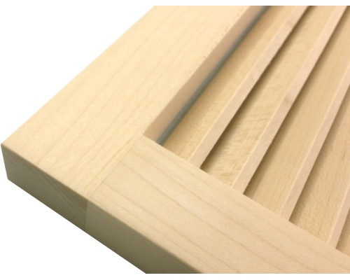 Wall Mount Return Vent Maple