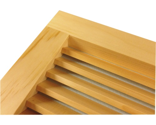 Wall Mount Return Vent White Pine