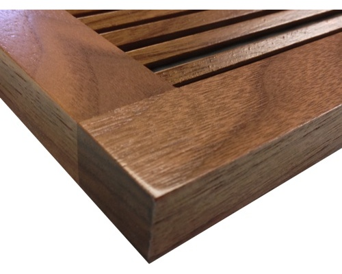Wall Mount Return Vent Black Walnut
